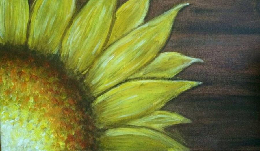Canvas & Coffee: Bright Sunflower